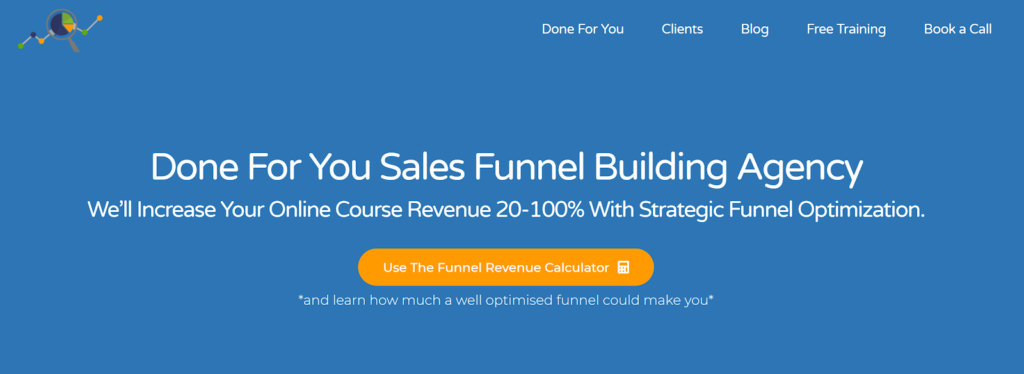 lead magnet funnel revenue calculator