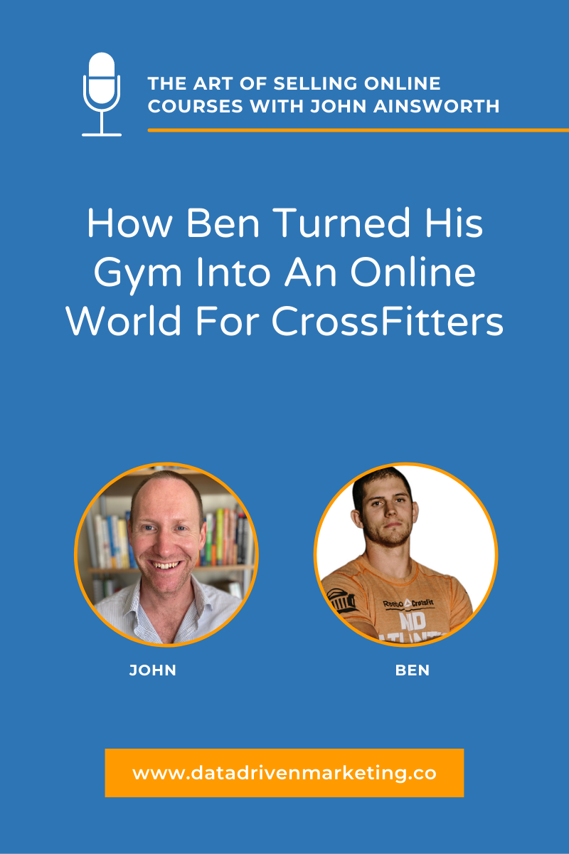 How Ben Turned His Gym Into An Online World For CrossFitters